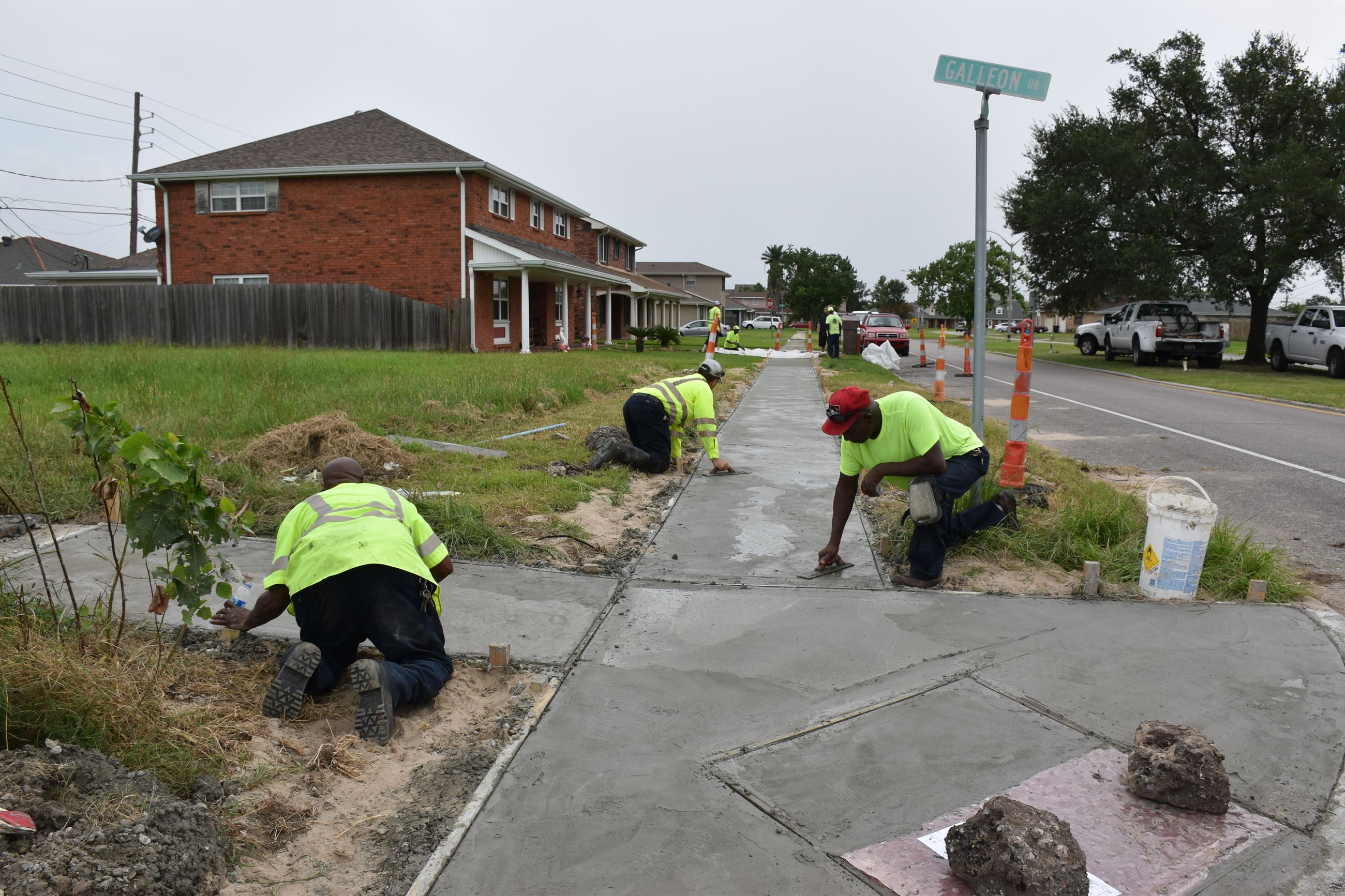 Jean Lafitte Sidewalk repair (1)