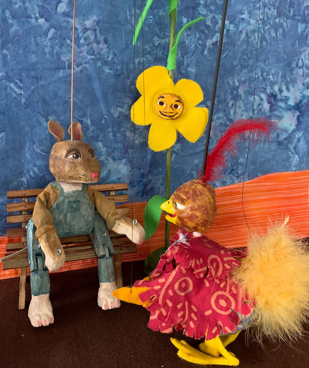 Mouse and Bird CALLIOPE PUPPETS
